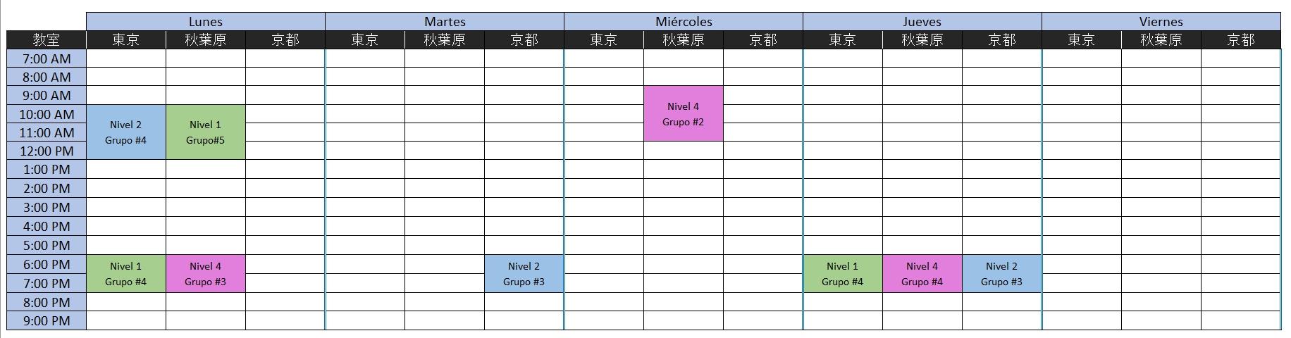 horario final 1
